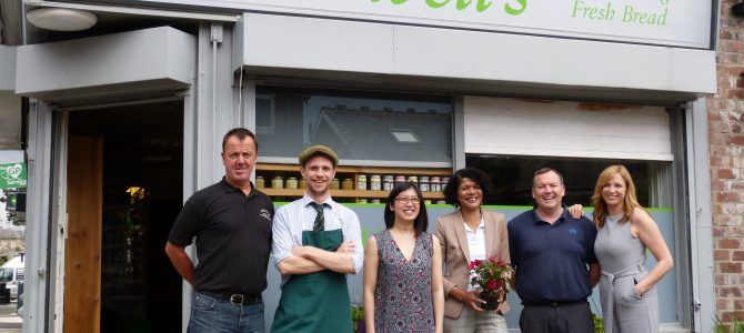 Chi asks is Ashburton Village the only fully independent shopping area in Britain