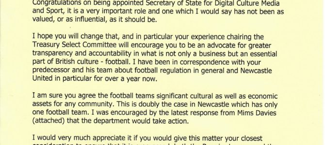 Seeking transparency and accountability of Football Clubs
