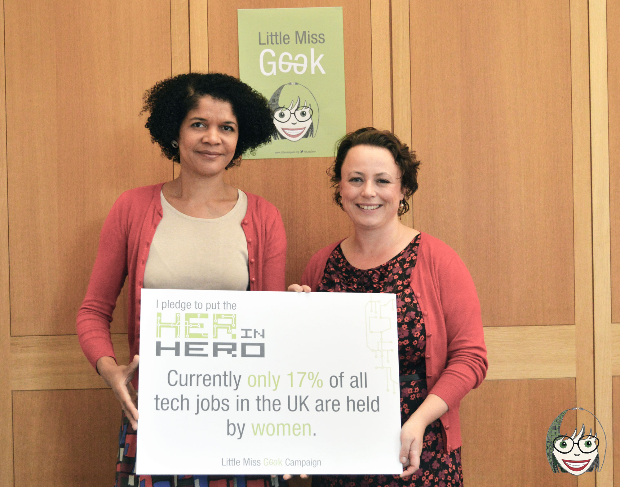 Newcastle MPs pledge 'to put the HER in Hero' ahead of Ada Lovelace Day