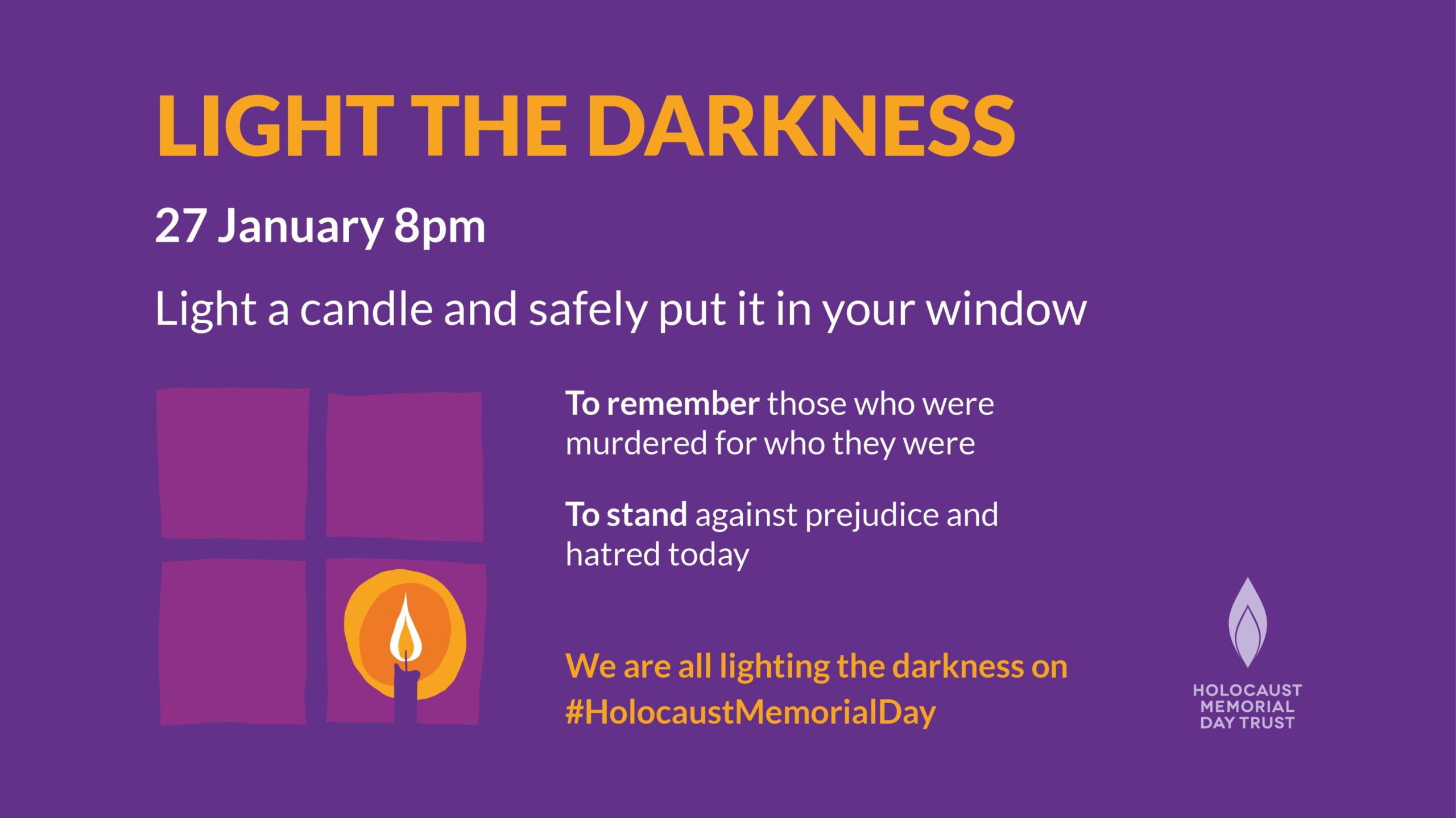 Today Holocaust Memorial Day