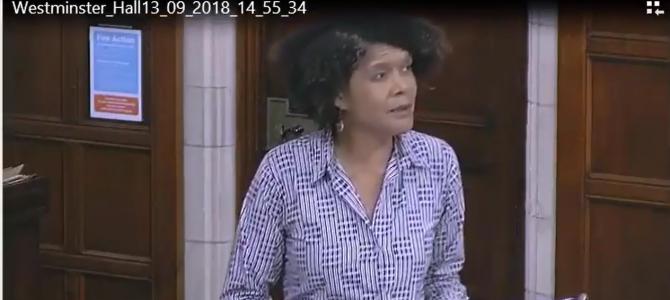 Economic Justice Commission debate in Parliament