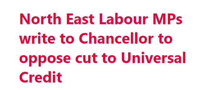 Opposing the cut in Universal Credit of £20 per week from October