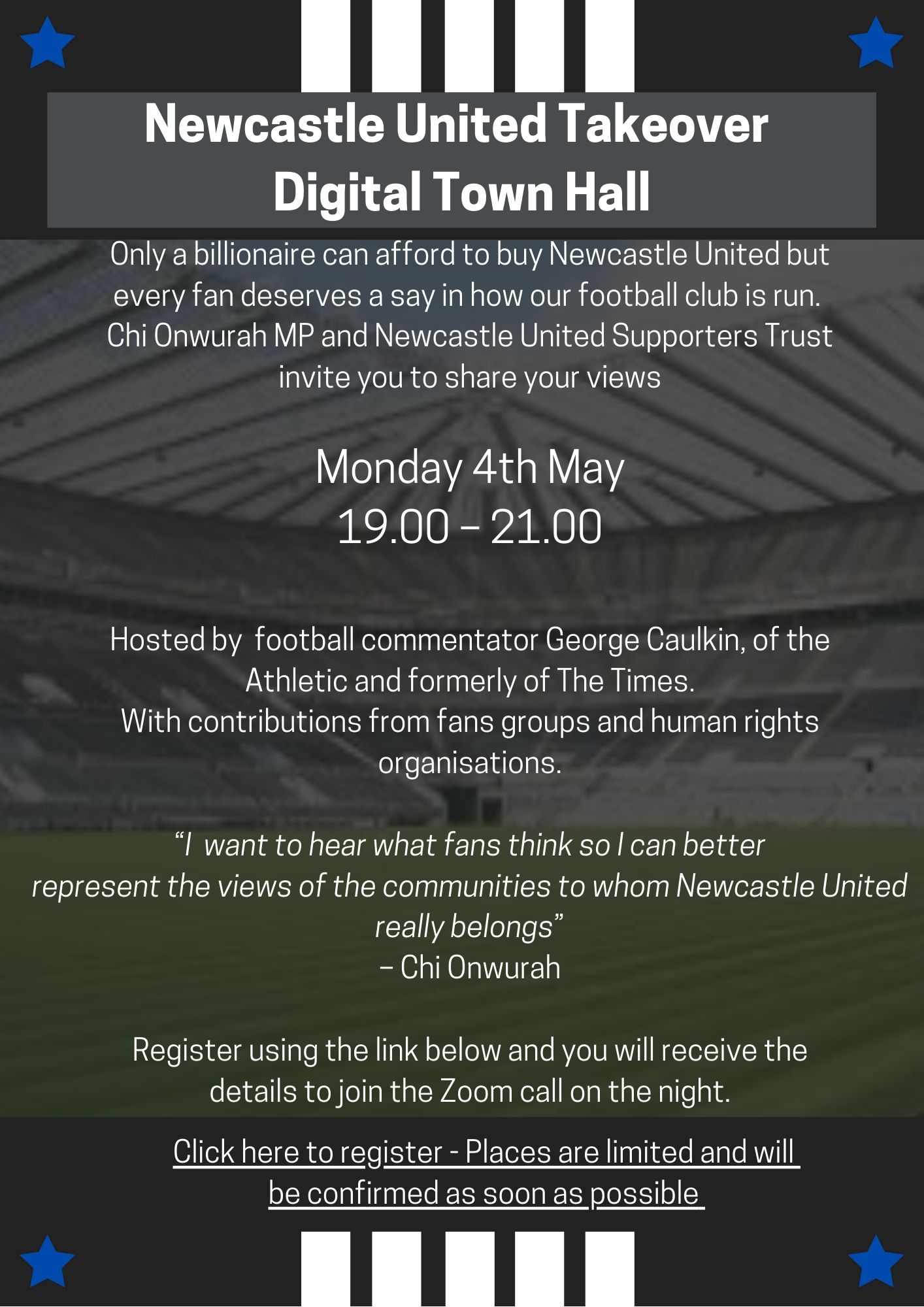Newcastle United Takeover – Digital Town Hall
