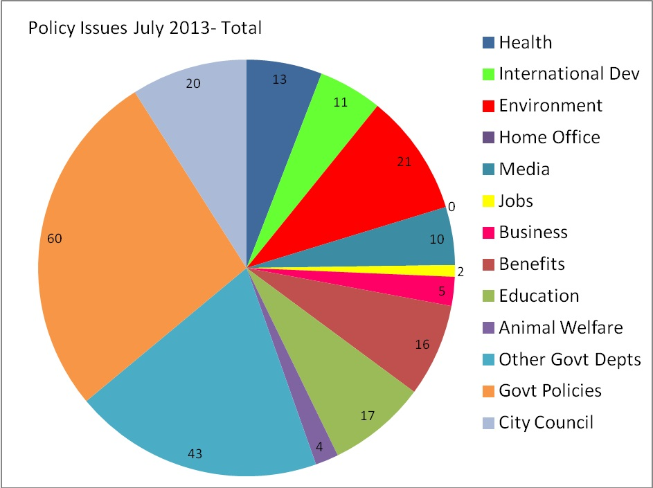 Policy Issues July 2013