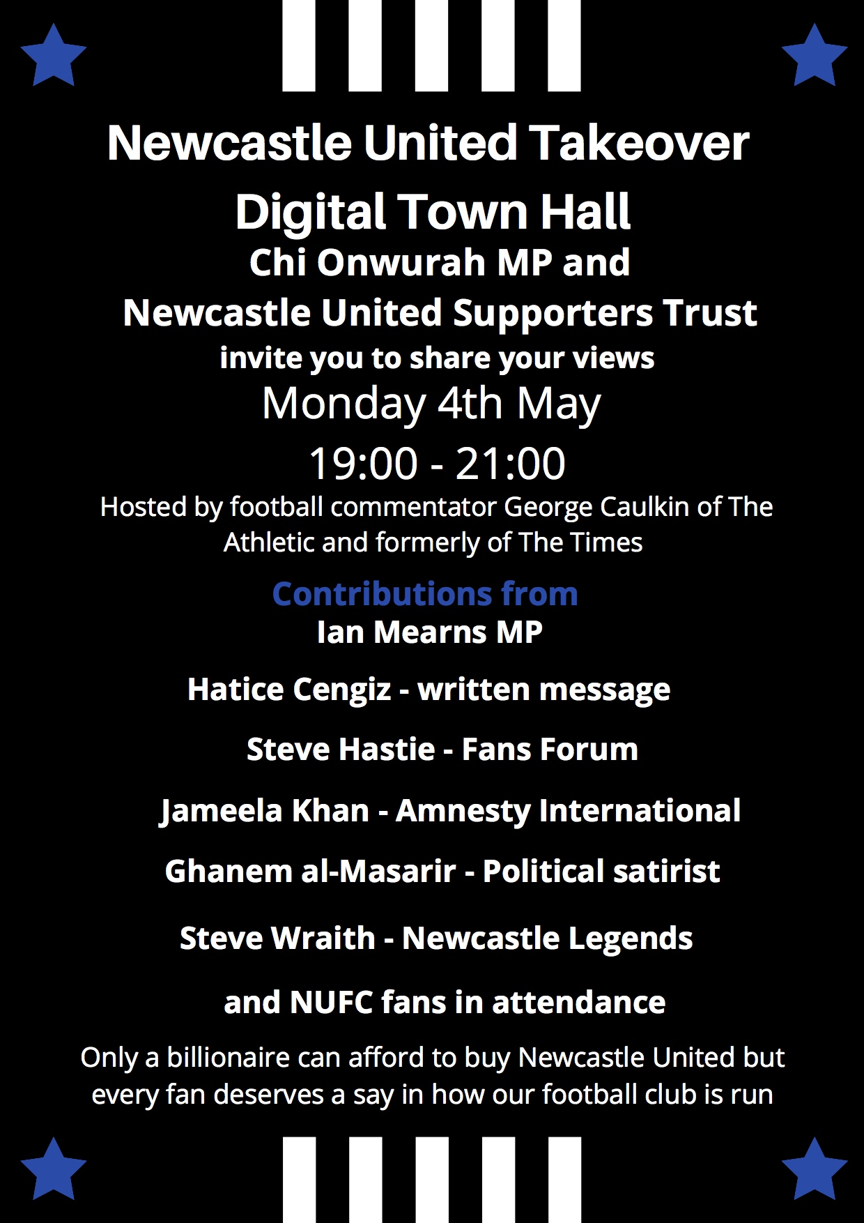 #ToonTownHall now available in full on YouTube