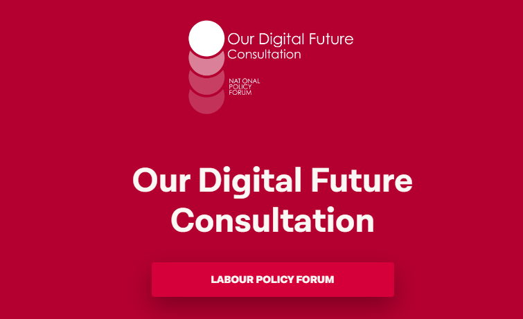 """Our Digital Future"" – a consultation"